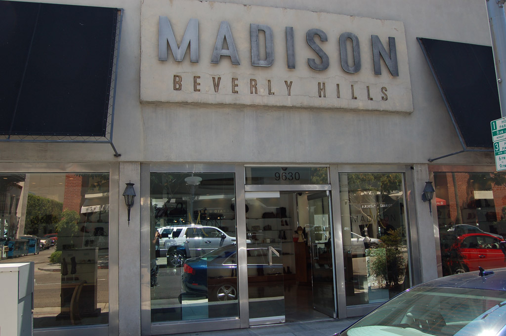 madison, beverly hills, boutique, store