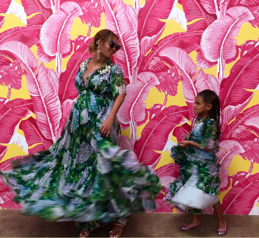 beyonce, fashion, shoes, sandals, blue ivy, instagram, museum of ice cream