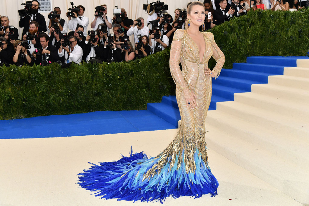 Blake Lively met gala carpet 2017