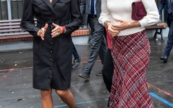 Brigitte Macron's Footwear Style
