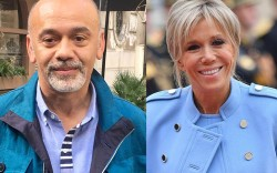 Brigitte Trogneux, christian louboutin, age, young,