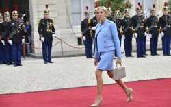 First Lady of France: Brigitte Macron Inauguration Day Style