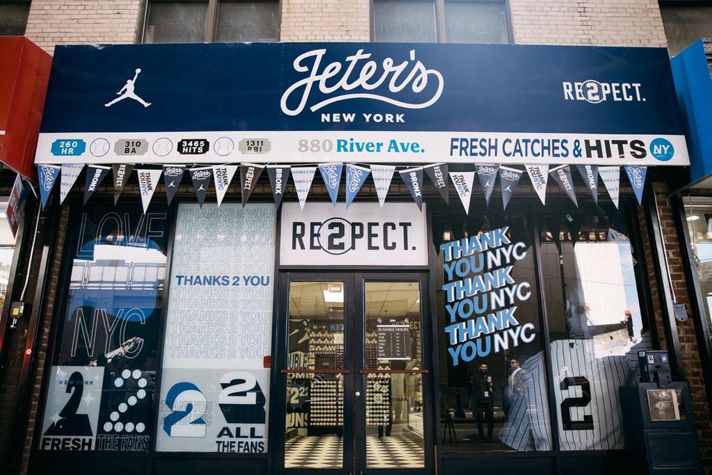Jordan Brand Derek Jeter Pop-Up Shop