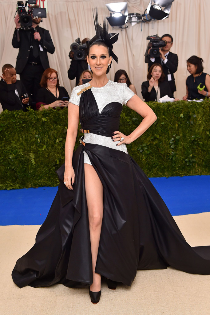 Céline Dion Met Gala 2017