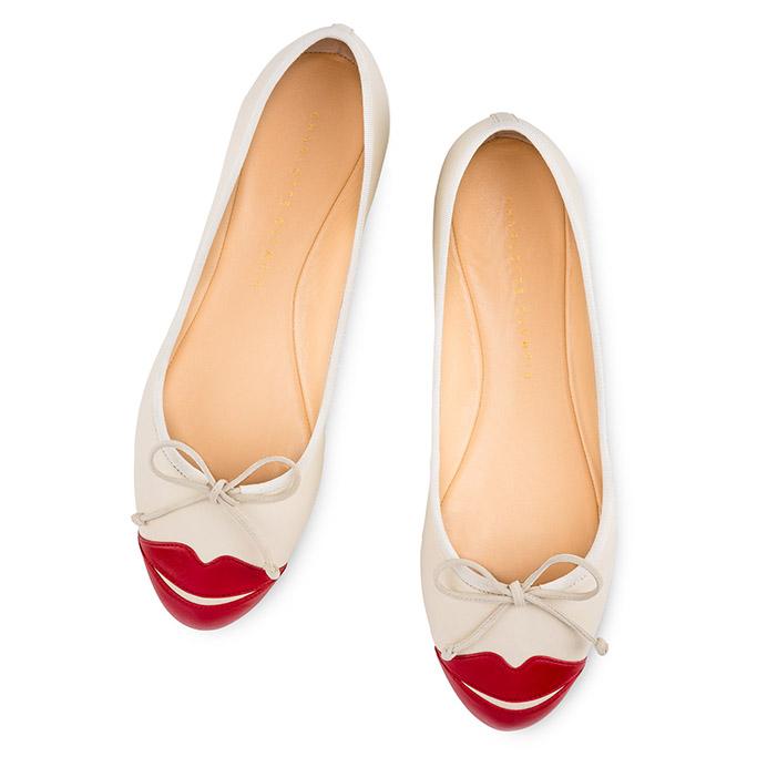 Charlotte Olympia wedding flats bridal shoes