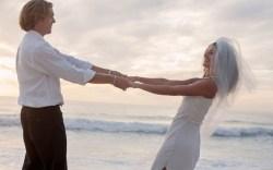Wedding destination beach