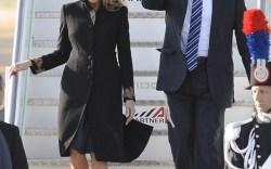 Donald Trump and Melania Trump Trip to Italy