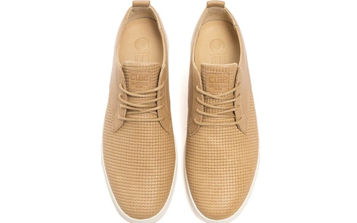 clae sneakers, woven leather