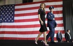 Melania Trump's Overseas Tour Style