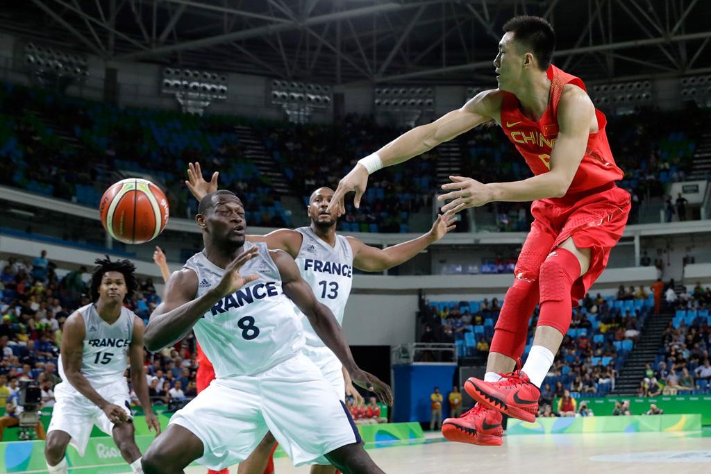 China Guo Ailun 2016 Rio Olympics Nike Kyrie 1