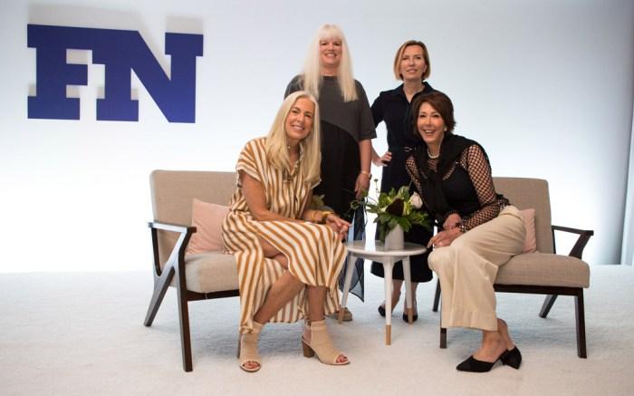 Eileen Tetreault, Liz Rodbell, Leslie Gallin, Libby Edelman, fn ceo summit 2017