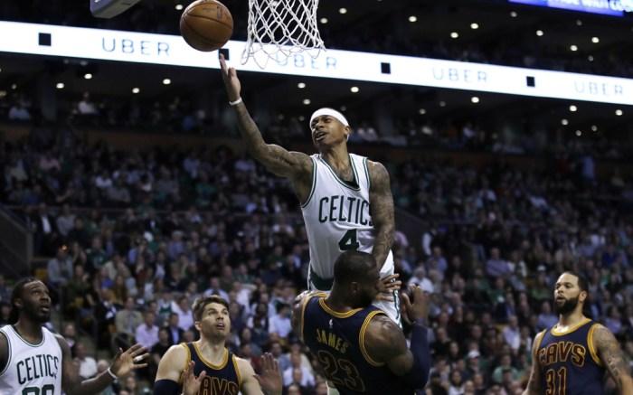 Isaiah Thomas LeBron James Nike NBA Basketball