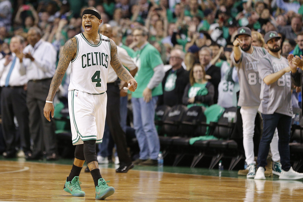 Isaiah Thomas in the Nike Kobe A.D.