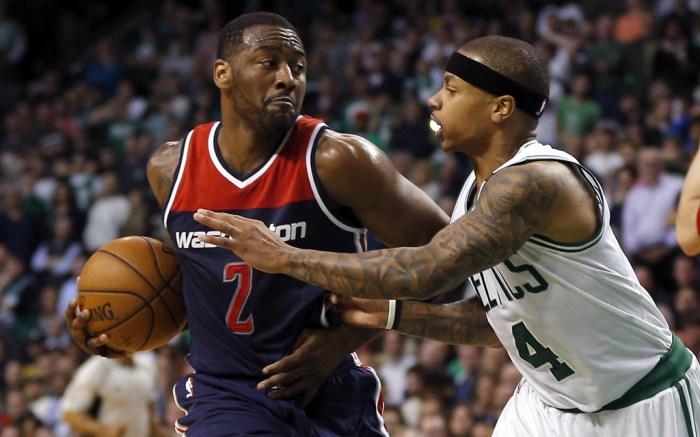 John Wall Washington Wizards Isaiah Thomas Boston Celtics