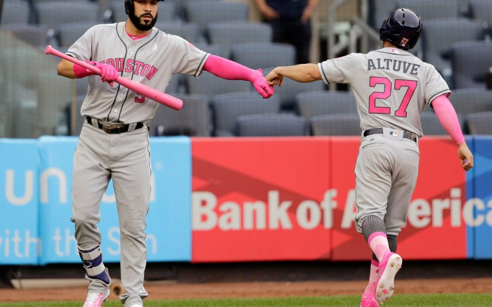 Jose Altuve Mother's Day Cleats