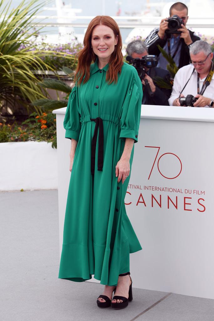 Julianne Moore Cannes 2017