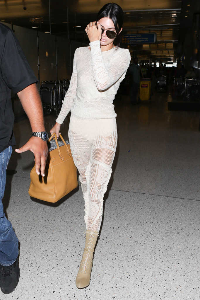 Kendall Jenner Style Yeezys