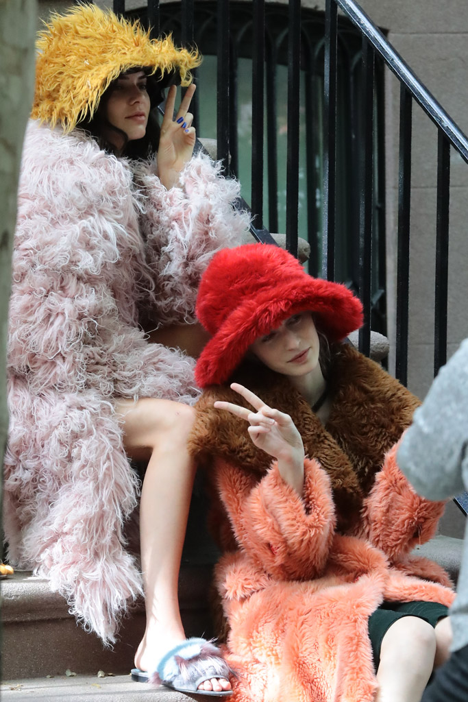 Kendall Jenner Muppets Photo Shoot