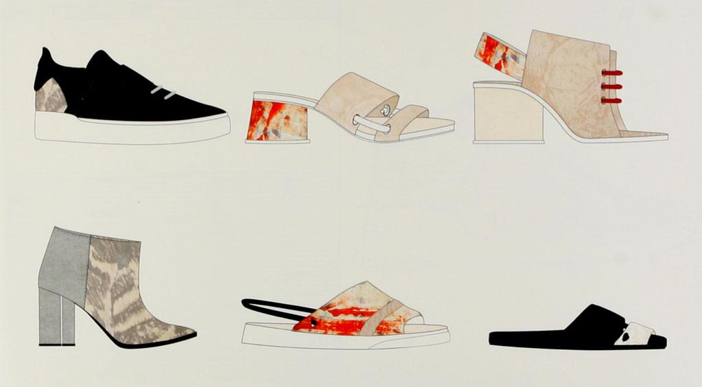 Erika Tompkins Kenneth Cole Footwear Innovation Award
