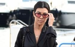 Kourtney Kardashian Cannes
