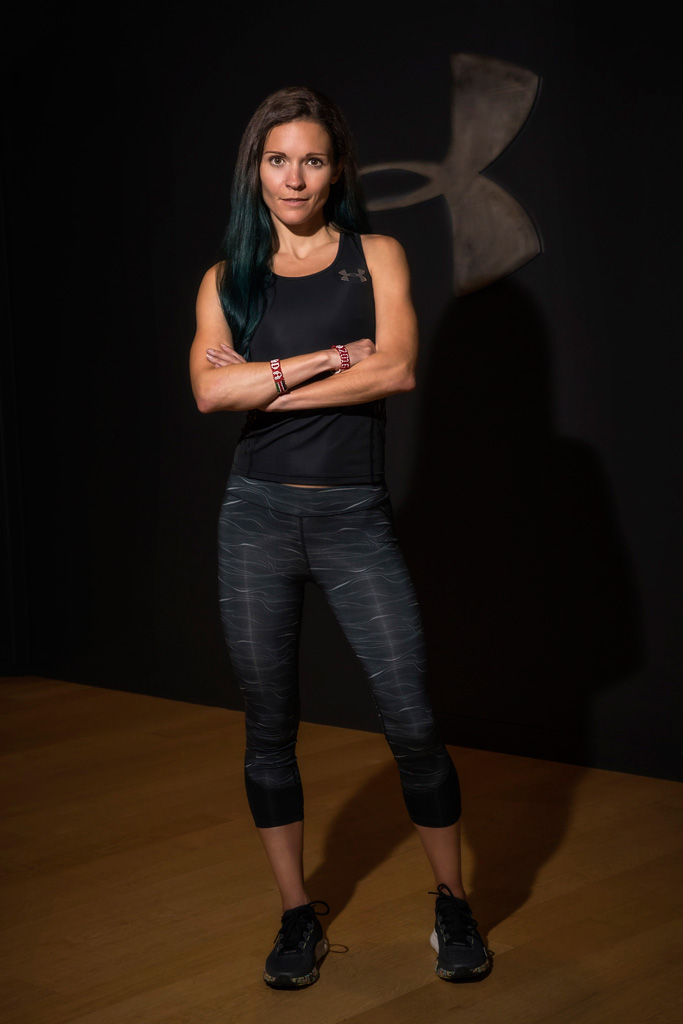 Canadian long-distance runner Lanni Marchant Under Armour