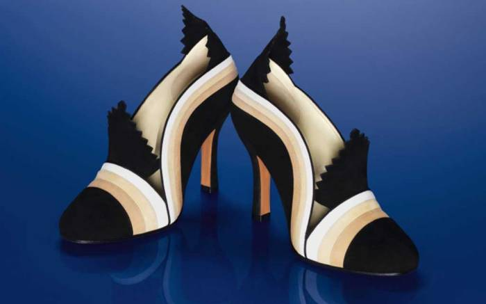 ferragamo, 1927 the return to italy, capsule collection, archive shoes
