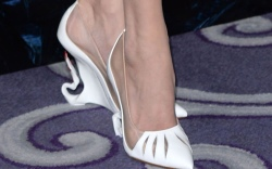 Celebrities Wearing the Craziest Christian Louboutin Shoes