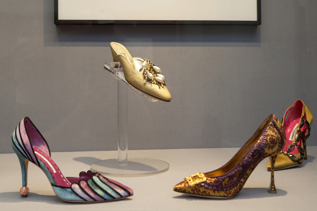 Manolo Blahnik shoes museum Hermitage