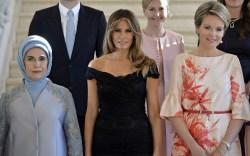 Melania Trump Style: Head-to-Toe Dolce & Gabbana for NATO