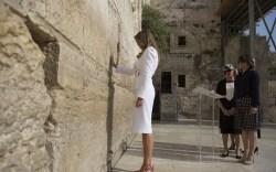 Donald and Melania Trump in Israel