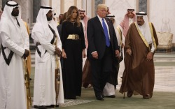 First Lady Overseas Trip Style: Melania Trump in Louboutins