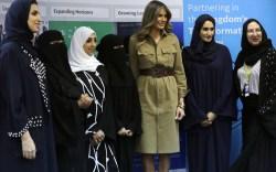 Melania Trump: Saudi Arabia Day 2 Style