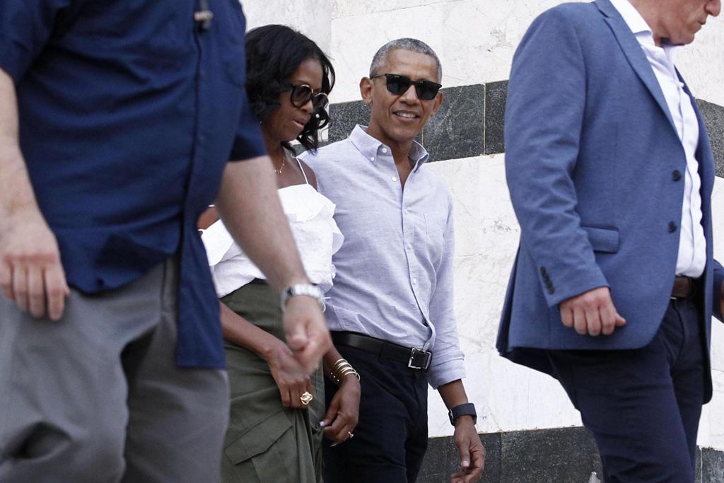 Michelle Barack Obama Italy