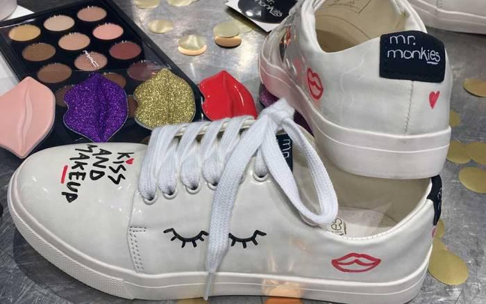 Mr Monkies custom sneakers x MAC.