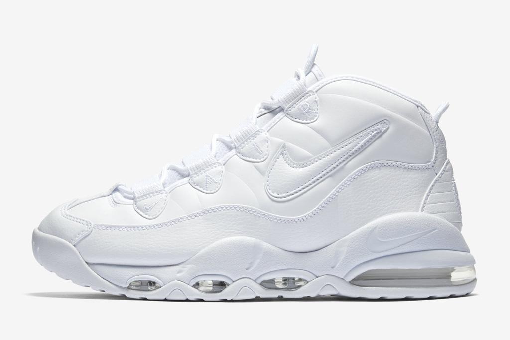 Nike Air Max Uptempo 95 Triple White