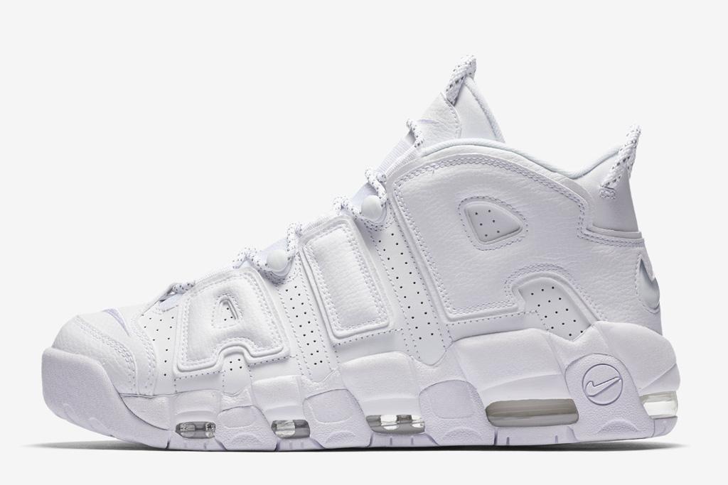 Nike Air More Uptempo Triple White