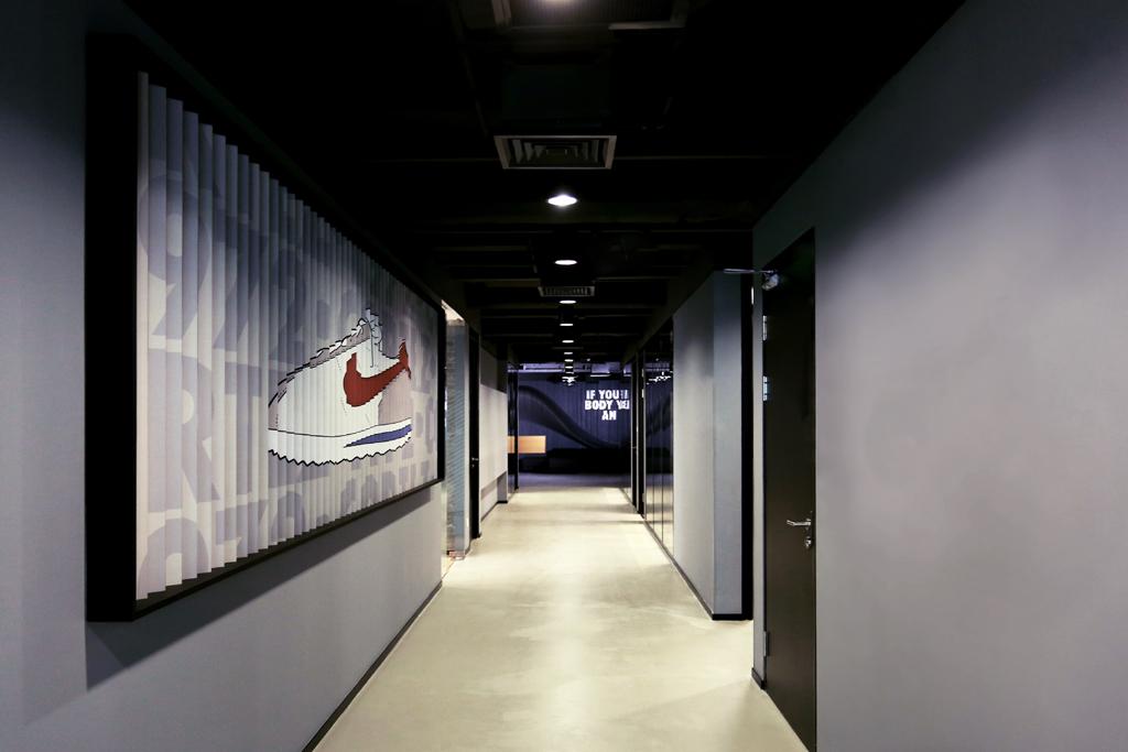 Nike Beijing Cortez Wall