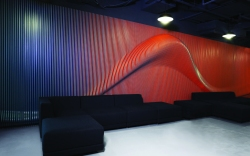Nike Beijing Magical Lamella Wall