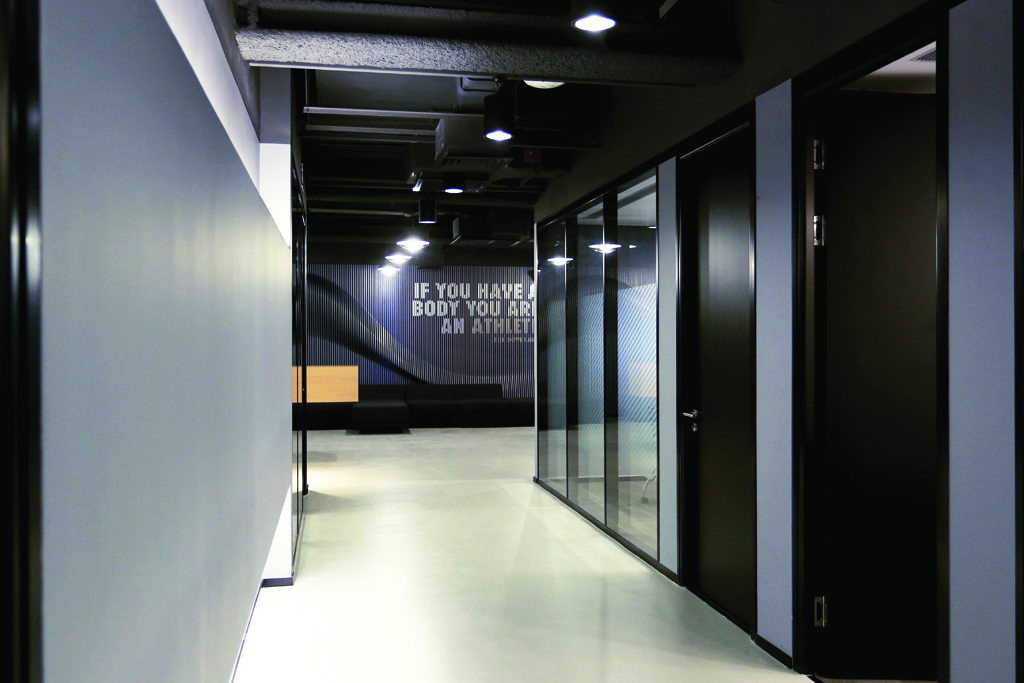 Nike Beijing Magical Lamella Wall