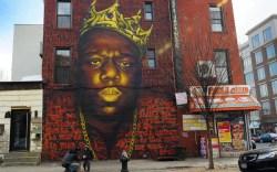 Notrious B.I.G. Mural New York City