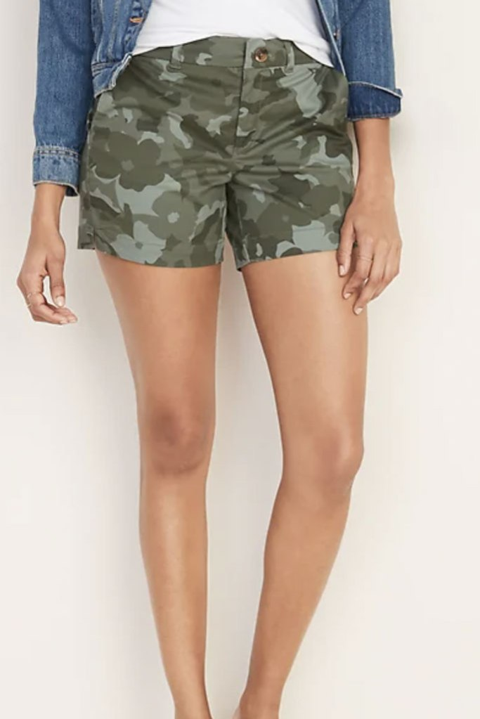 old navy camo shorts