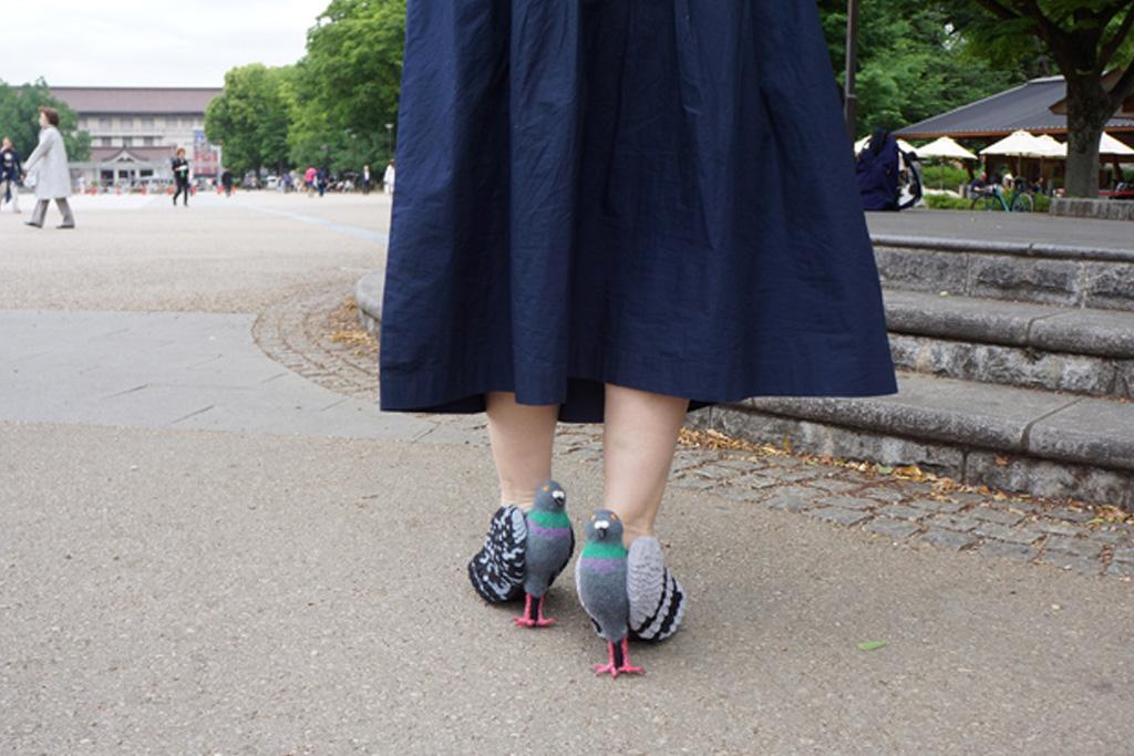 Keiko Ohata Pigeon Shoes
