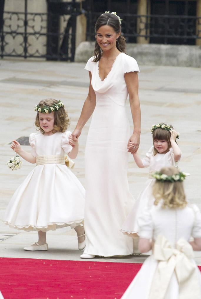 pippa middleton, kate middleton, royal wedding 2011