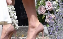 Pippa Middleton's Wedding: Kate Middleton's Pink Style