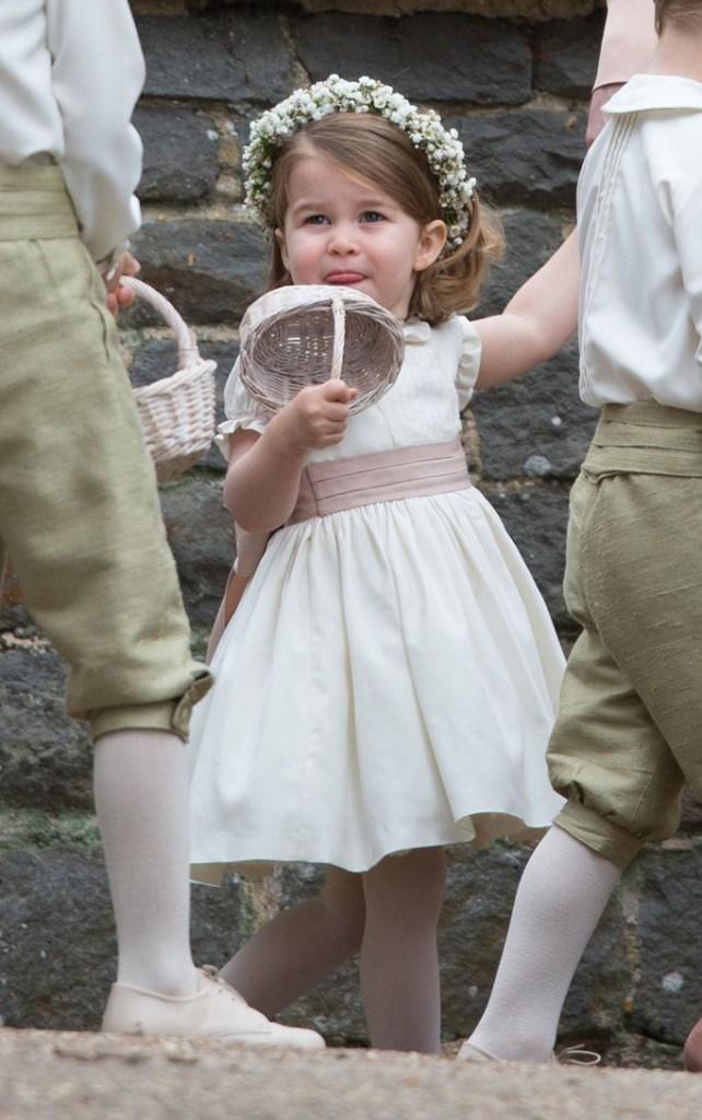 Princess Charlotte, Pippa Middleton wedding