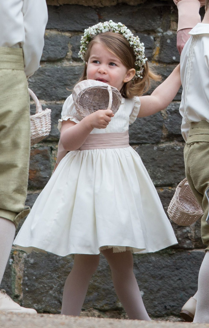 princess charlotte, pippa middleton wedding, kate middleton