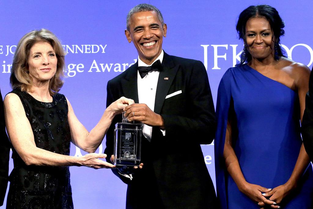 Barack Obama Profile in Courage