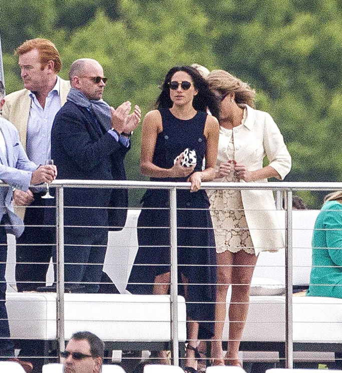 Prince Harry Meghan Markle Polo Date dress shoes kiss girlfriend