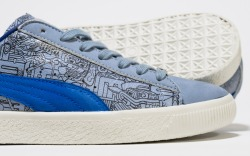 puma a1800 tequila sneakers clyde cinco