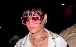 Rihanna attends the Met Gala 2017